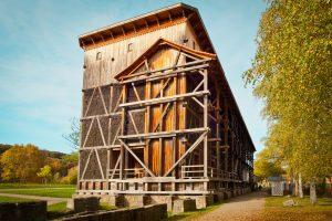 Gradierbau Saline Bad Kissingen